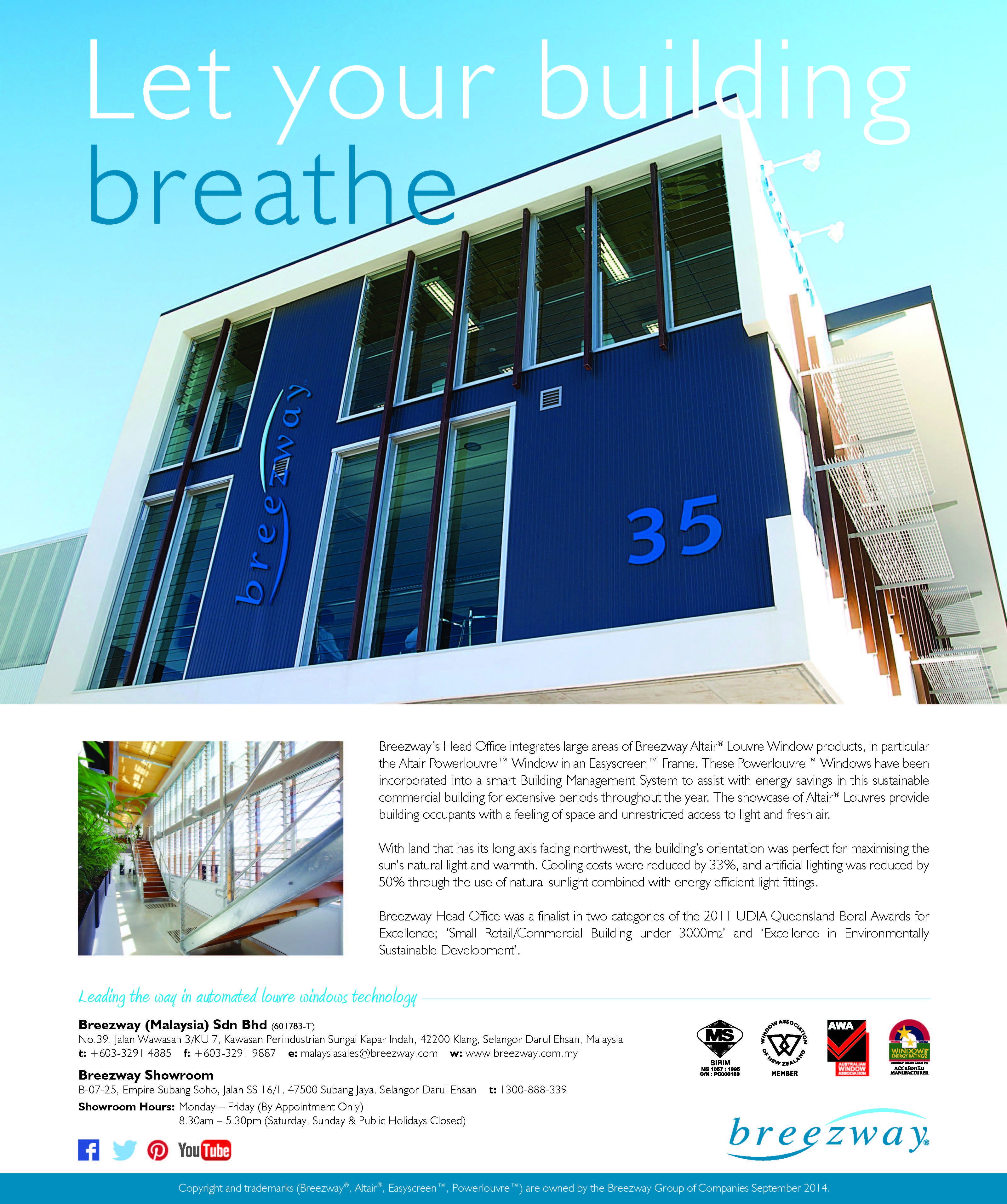 Breezway advertises in architecture malaysia for Architecture design company in malaysia